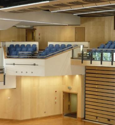 NEW AUDITORIUM FOR SCHOOL